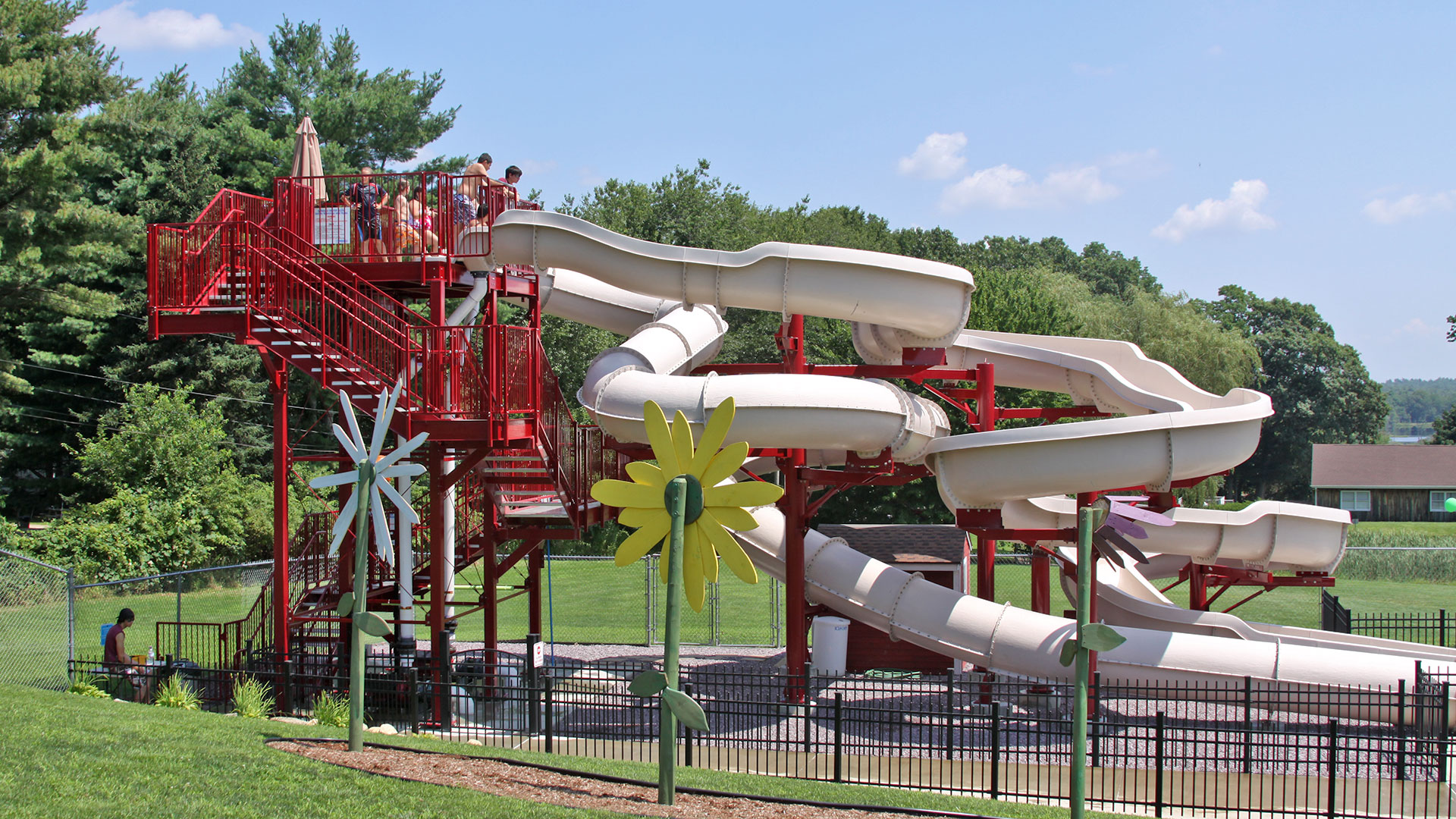 HYDRO-FURY Waterslides