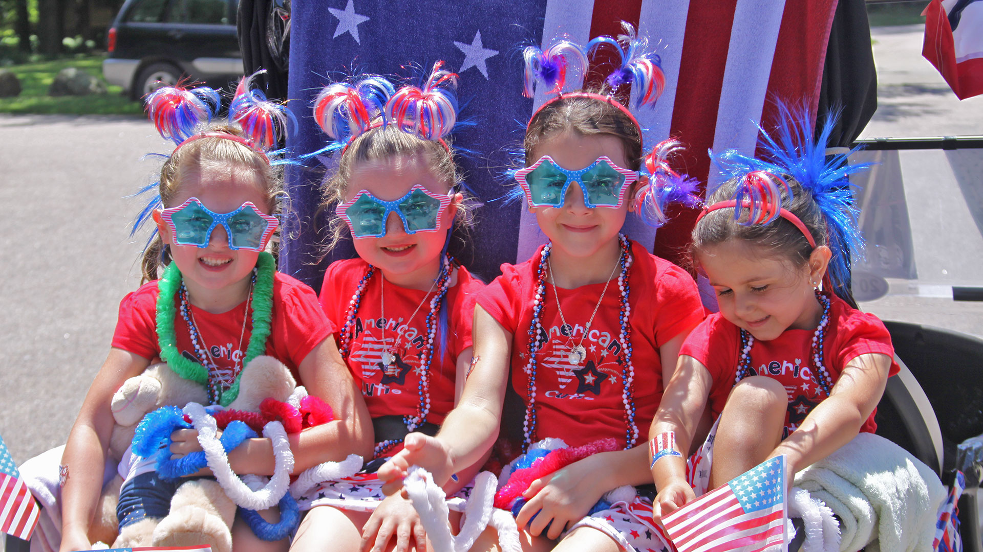 Patriotic Young Ladies